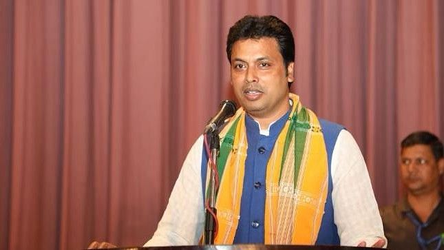 Tripura Chief Minister Biplab Deb Tests Positive for COVID-19