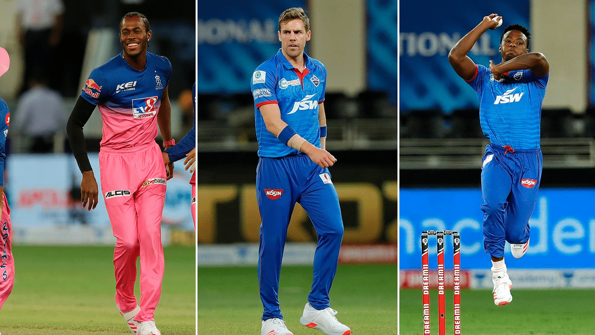 Jofra Archer, Anrich Nortje and Kagiso Rabada displayed serious fast bowling on Wednesday troubling the opposition batsmen.