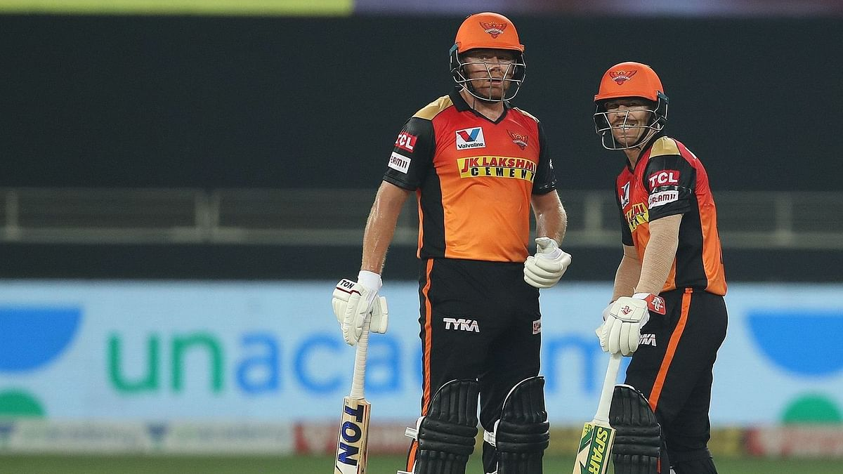 David Warner and Jonny Bairstow stitched a partnership of 160 runs in 15 overs to lay the platform for Sunrisers Hyderabad