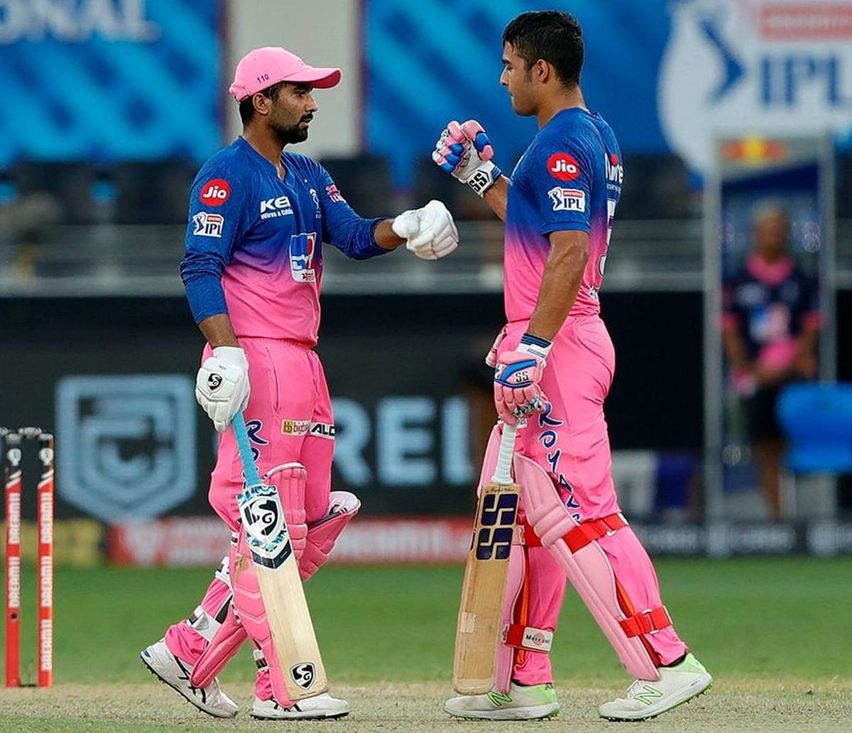 Rahul Tewatia and Riyan Parag stitched an unbeaten 47-ball 85-run partnership to take their team over the line