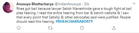 Netizens Celebrate After Bombay HC Grants Rhea Chakraborty Bail