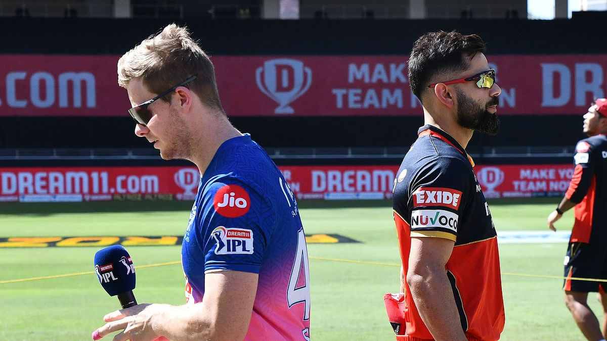 Steve Smith's RR have won the toss and elected to bat first in Dubai vs RCB.