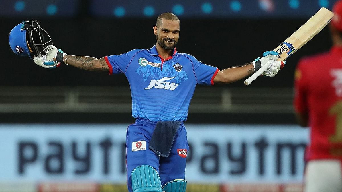 Shikhar Dhawan became the first player to score two centuries in consecutive matches in the IPL.