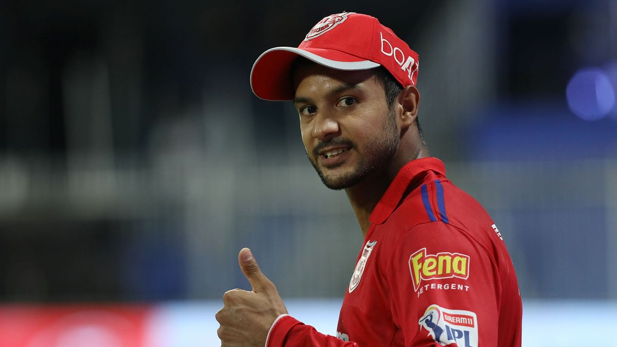 Mayank Agarwal has scored 272 runs and he holds the 3rd position in the Orange Cap contender's list.