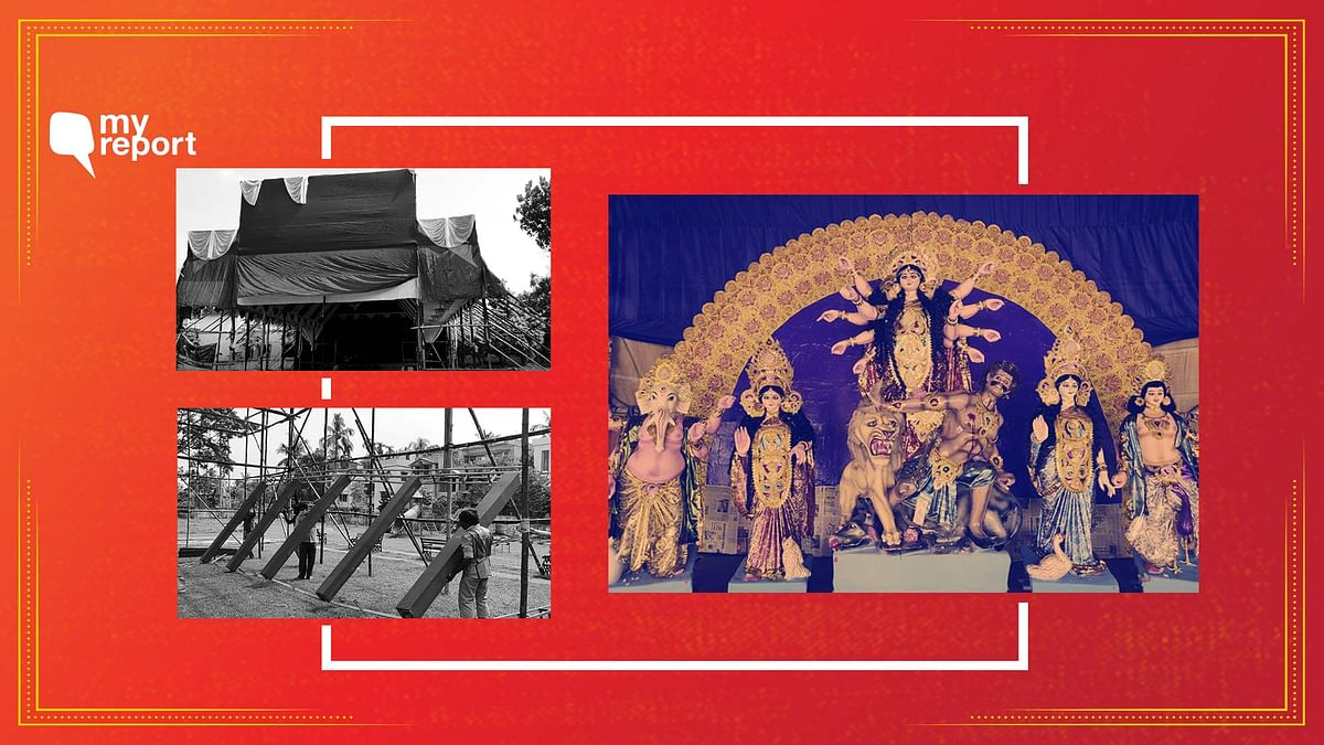 Low Budget, Loss of Work – A Sombre Durga Pujo in Bengal's Nadia