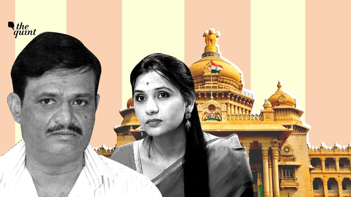 Former Congress MLA Munirathna, the BJP on Tuesday announced as BJP's candidate in RR Nagar.