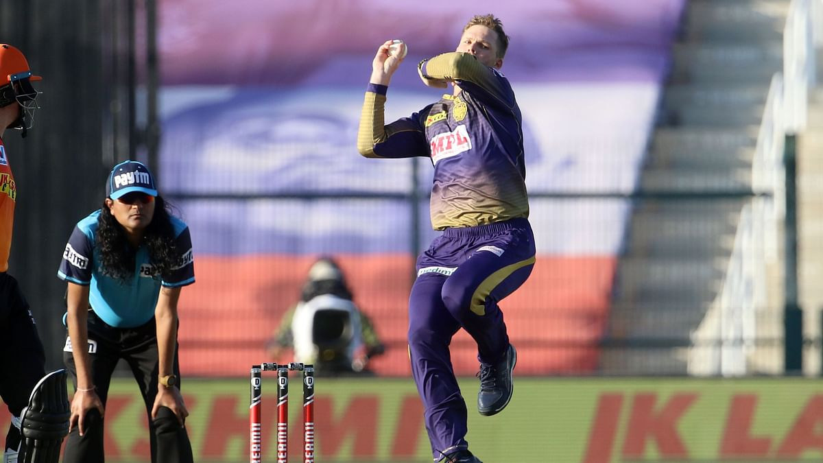 Lockie Ferguson produced a brilliant bowling performance in the match and then in the Super Over to take KKR home against SRH.