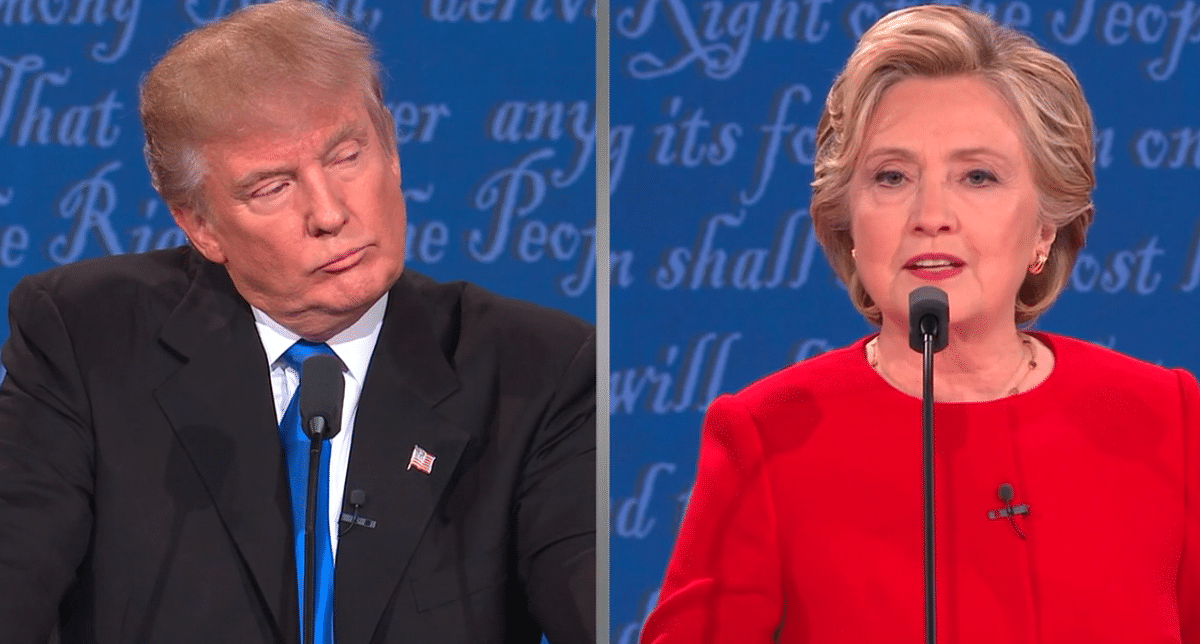 There's no love lost between Hillary and Trump.