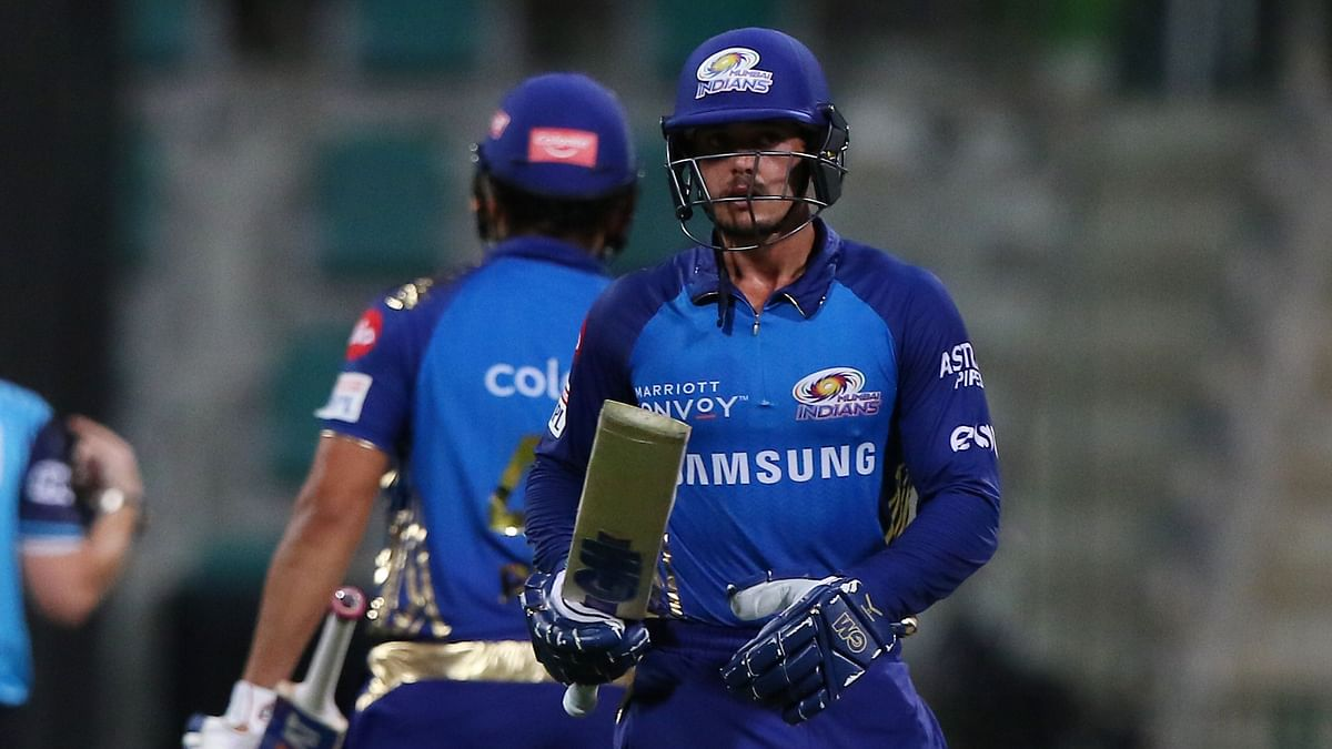 KKR Start Morgan Era With Loss, Go Down to MI Courtesy de Kock