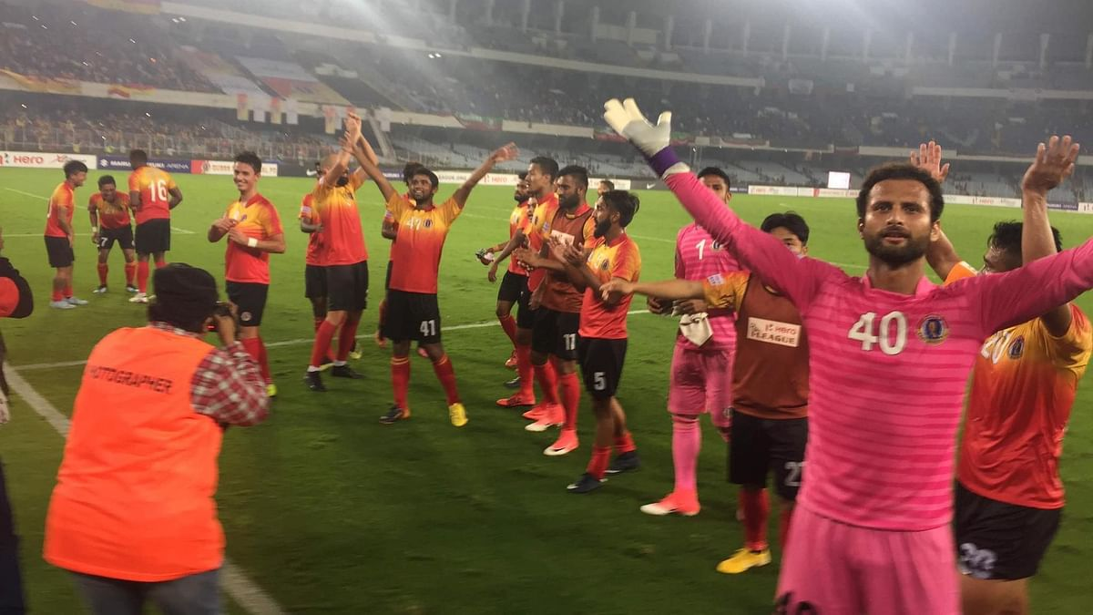 """East Bengal club said that it was """"delighted to have its team"""" in the 2020-21 season of the Indian Super League."""