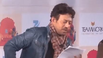 Irrfan Khan Reads Om Prakash Valmiki's 'Thakur ka Kuan'