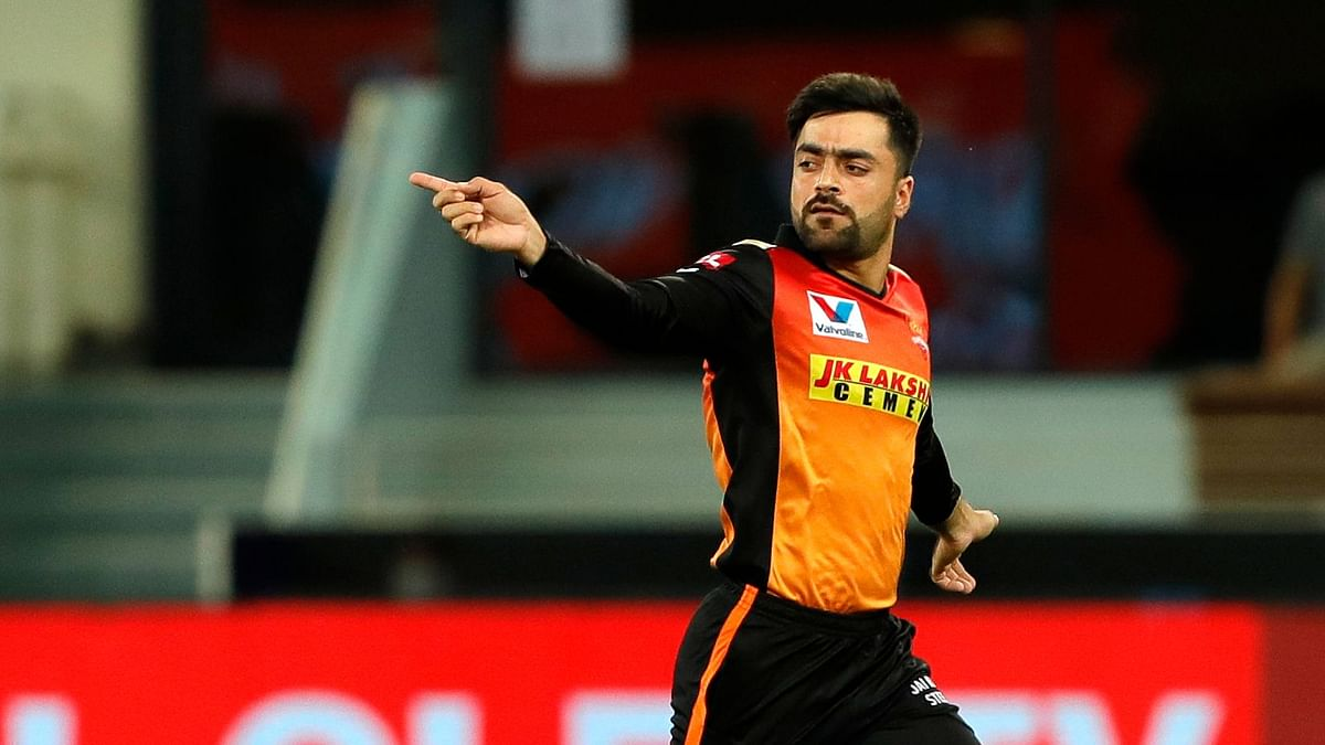 Rashid Khan finished with 3/7, including a whopping 17 dot balls in his four overs vs Delhi Capitals.