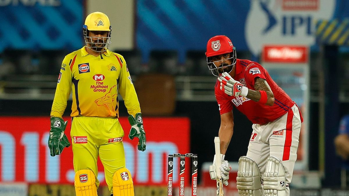 Kings XI Punjab captain KL Rahul led from the front with a half-century against Chennai Super Kings.