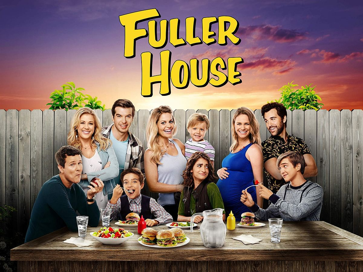 A poster of Fuller House.
