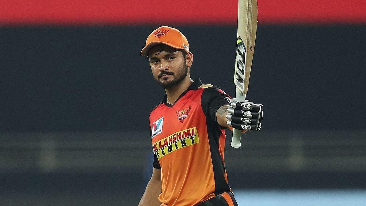 SRH Batsman Manish Pandey Shines on Return to No 3 vs RR