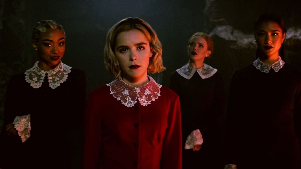 A still from Chilling Adventures of Sabrina