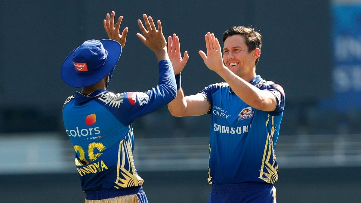 Trent Boult has taken 12 wickets in the powerplay, the most by a bowler this Indian Premier League.