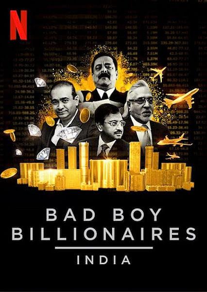 The original poster of <i>Bad Boy Billionaires.</i>