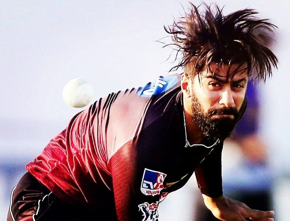 Kolkata Knight Riders' USA import Ali Khan was sidelined with a side strain