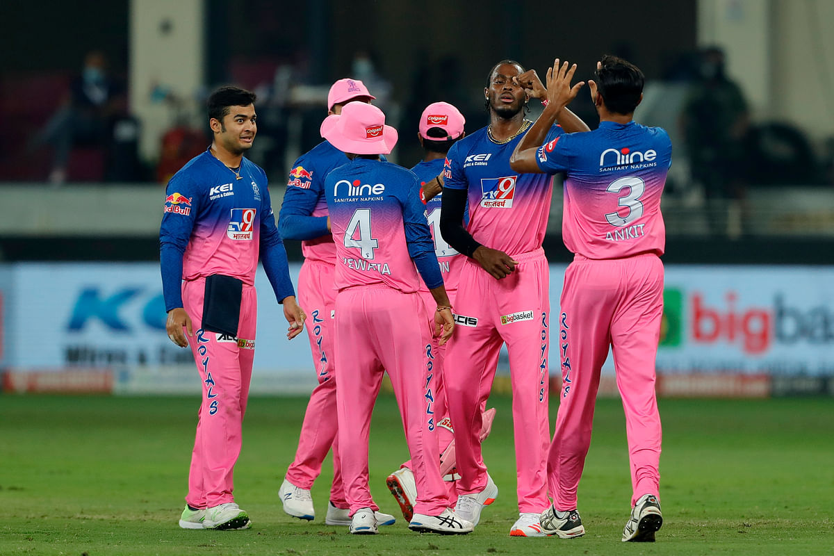 Archer struck early, removed both the openers and reduced Rajasthan Royals to 16/2.