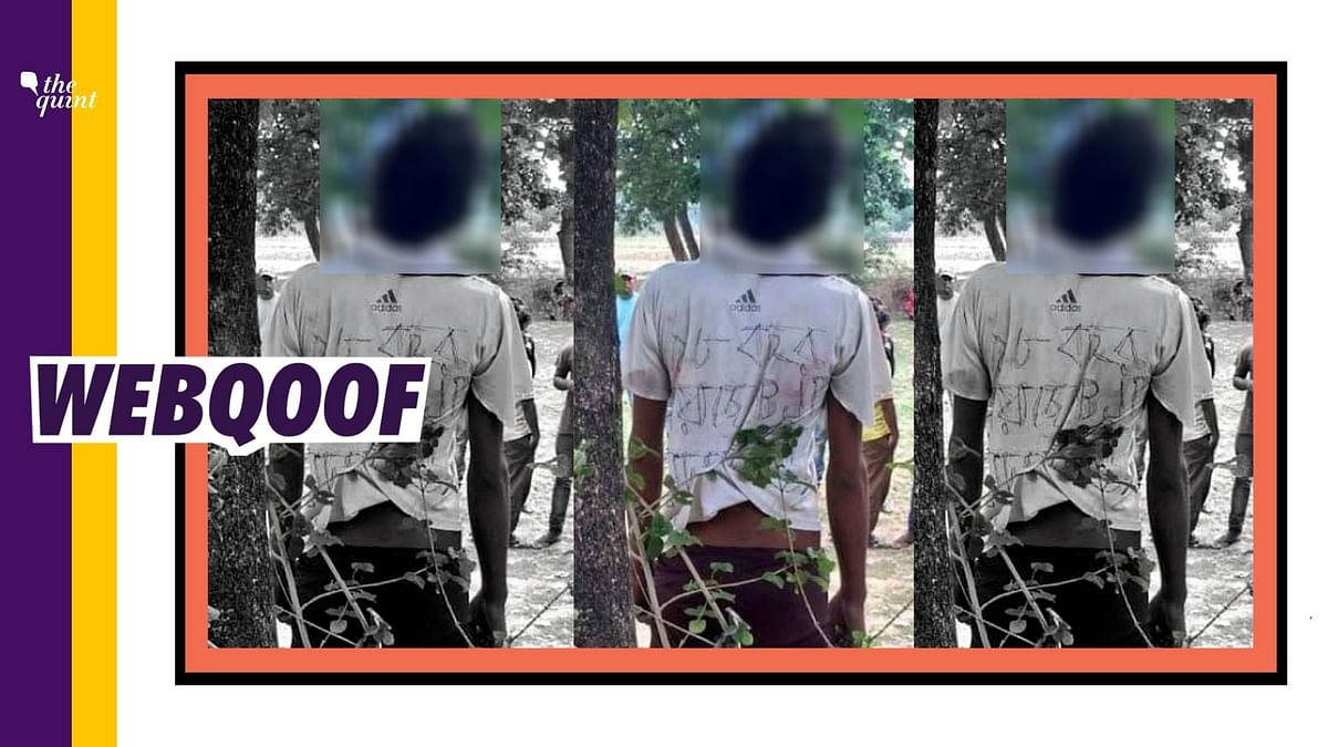 Pic Showing Alleged BJP Worker Found Dead in WB Is a 2018 Incident