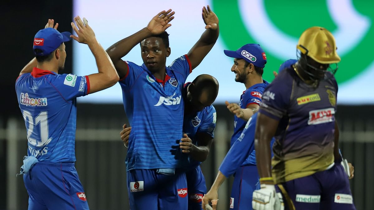 KKR Stage Tough Fight But Delhi Defend Highest Total of IPL 2020