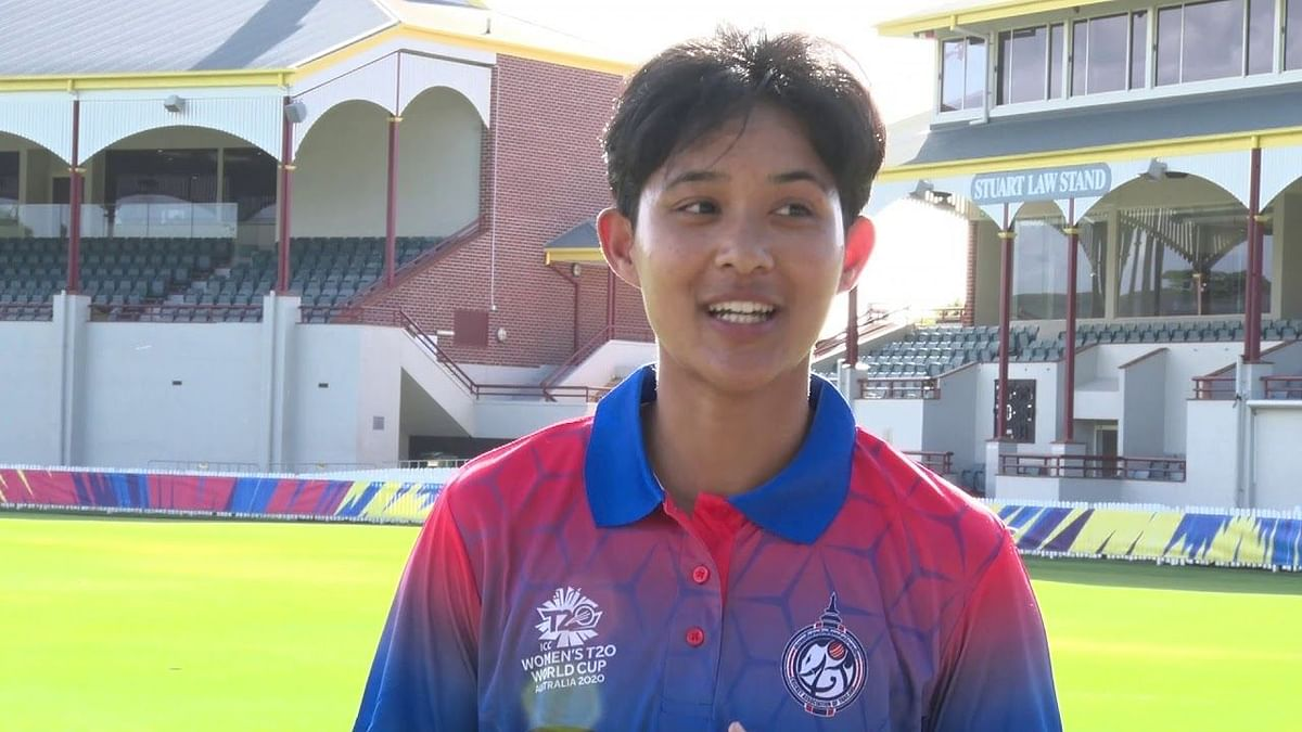 Thailand's Natthakan Chantham will become the first player from Thailand to feature in the Women's T20 Challenge.