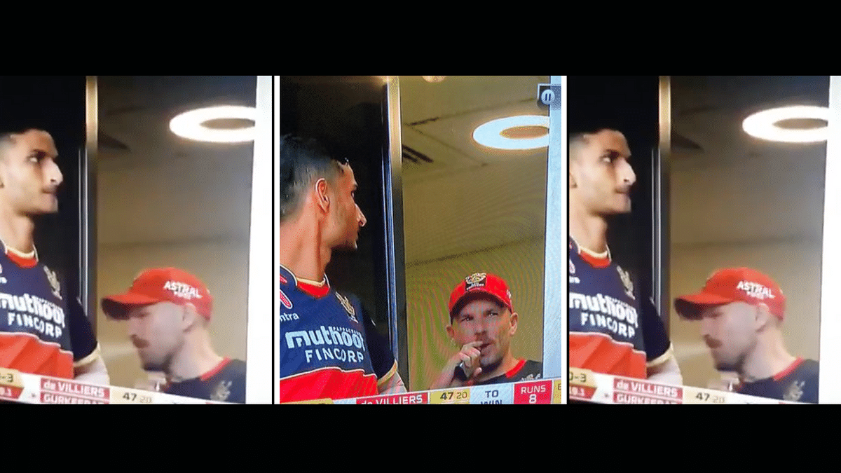 Finch Spotted Vaping During RR Game, Fans Confused About IPL Rules
