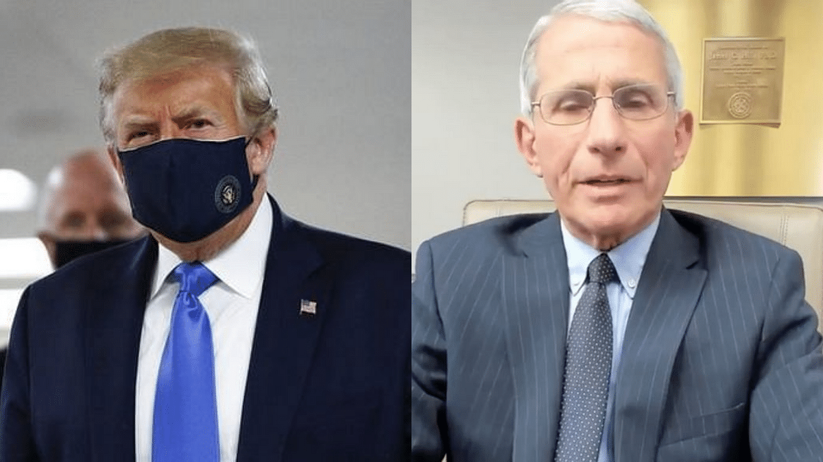 'Words Taken Out of Context': Dr Fauci on Trump's Ad Campaign