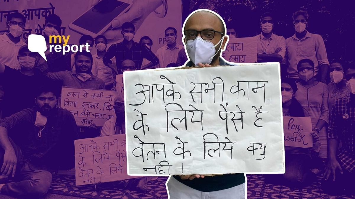 Unpaid for Months, Unable to Pay Rent: RBIPMT Doctors Go on Strike