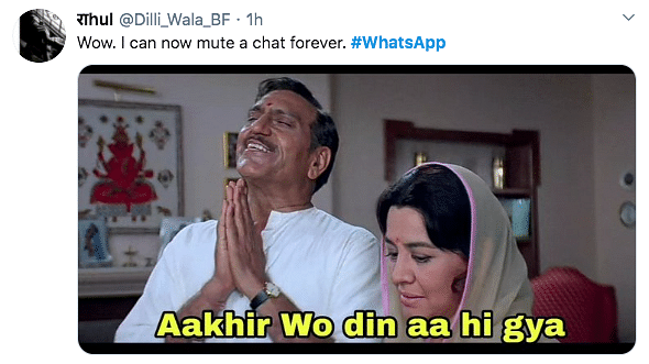 WhatsApp Announces You Can Mute Chats Forever, Memes Galore