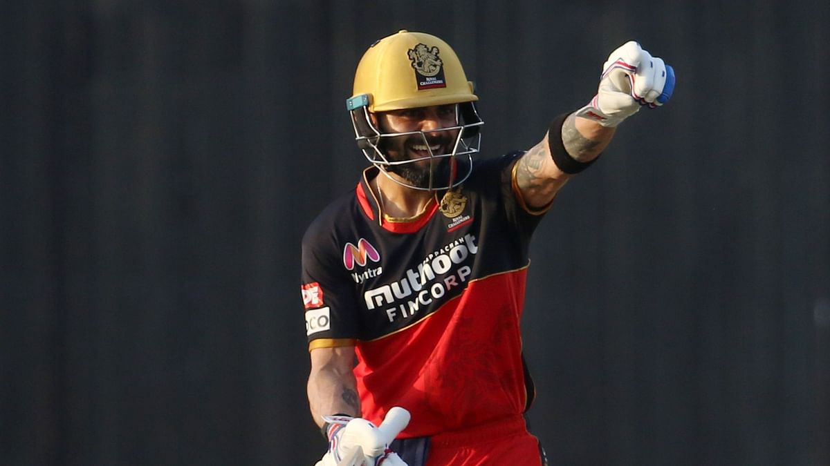 RCB defeat Rajasthan Royals by 8 wickets.