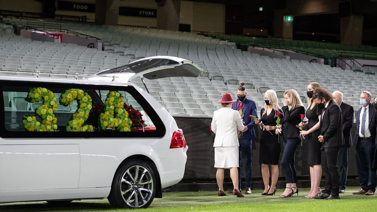 Late Australian cricketer, coach and commentator Dean Jones was bid a farewell at the Melbourne Cricket Ground