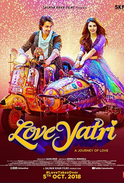 Poster of <i>LoveYatri.&nbsp;</i>&nbsp;