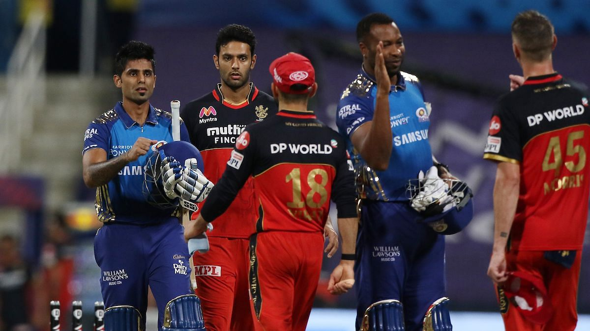 MI beat RCB in the 48th game of the tournament by 5 wickets.
