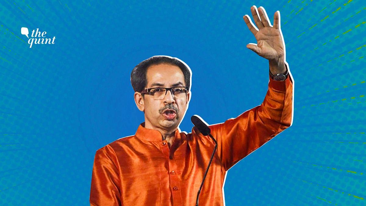 Maharashtra CM Uddhav Thackeray.