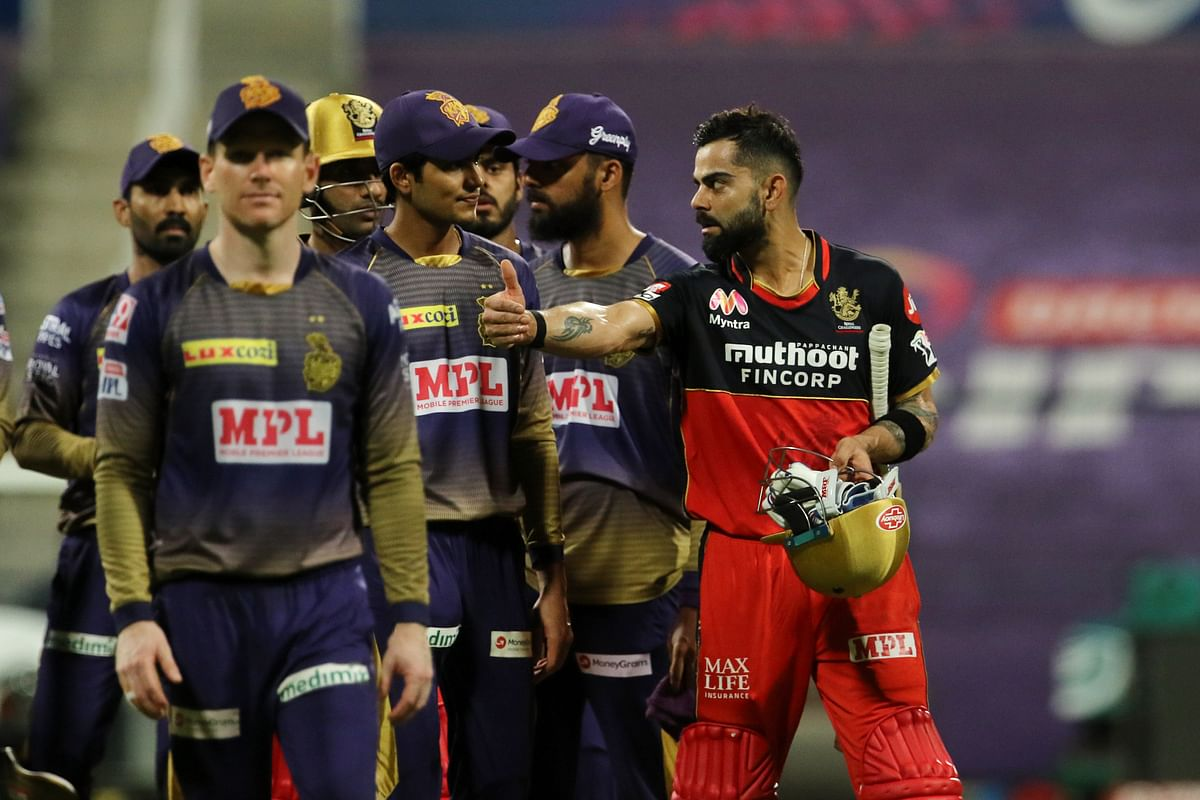 With this win, the Royal Challengers replace Mumbai Indians on the second spot in the standings.