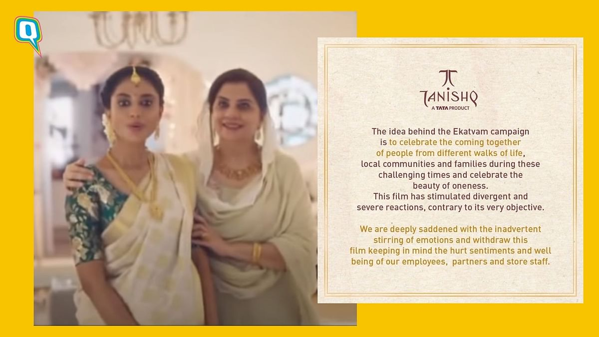 Tanishq Issues Statement About Controversial Ad, Twitter Reacts
