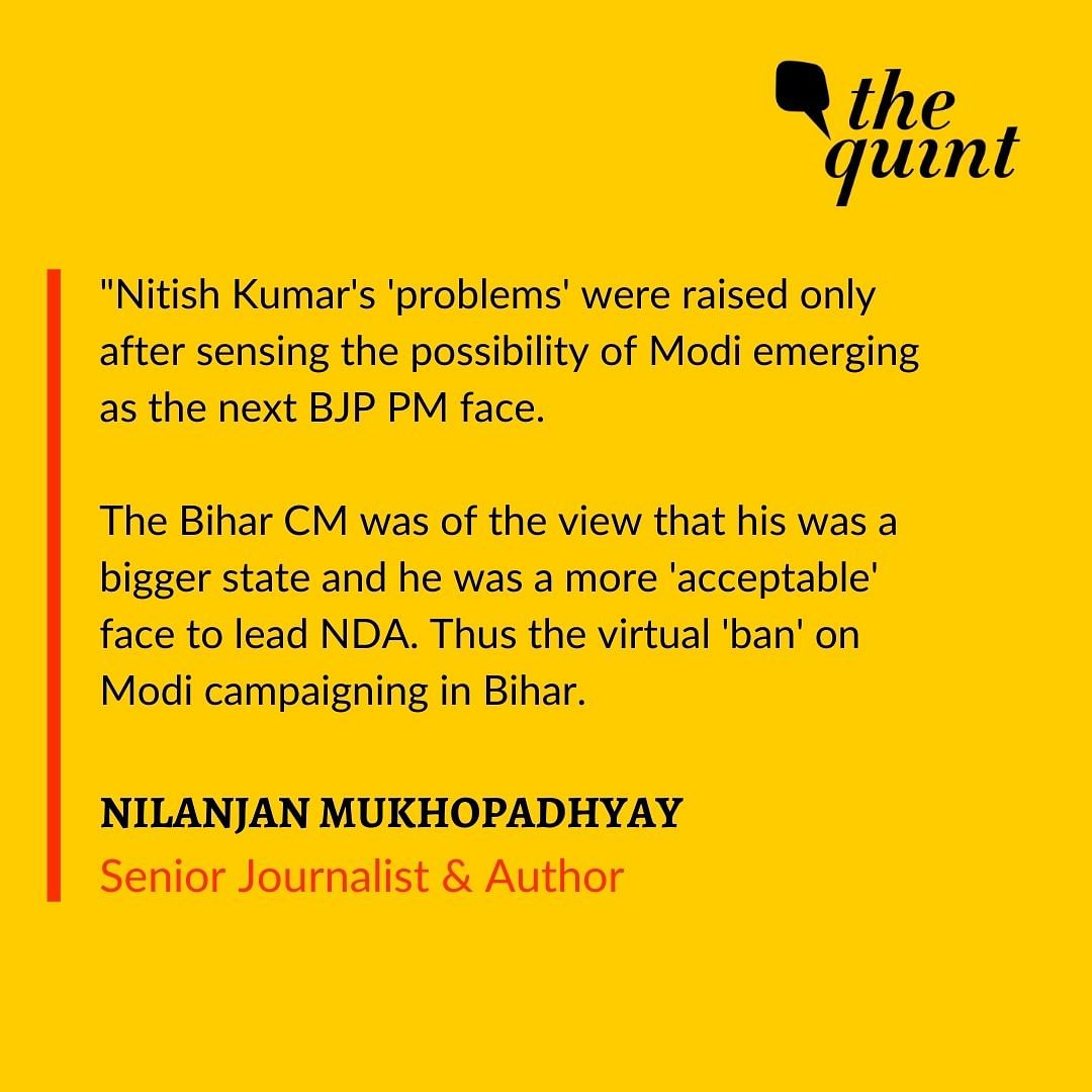 Will Nitish Kumar 'Legitimise' BJP in Bihar Like Chimanbhai Did?