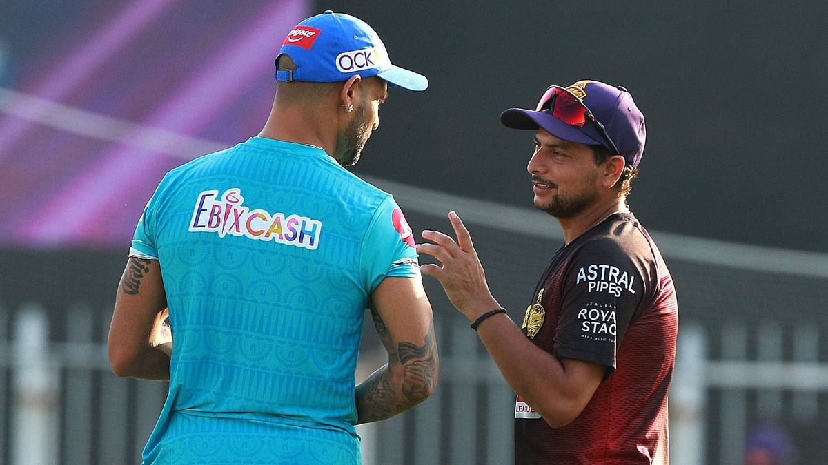 Karthik said the franchise was leaving spinner Kuldeep Yadav out due to the short boundaries at the Sharjah Cricket Stadium.