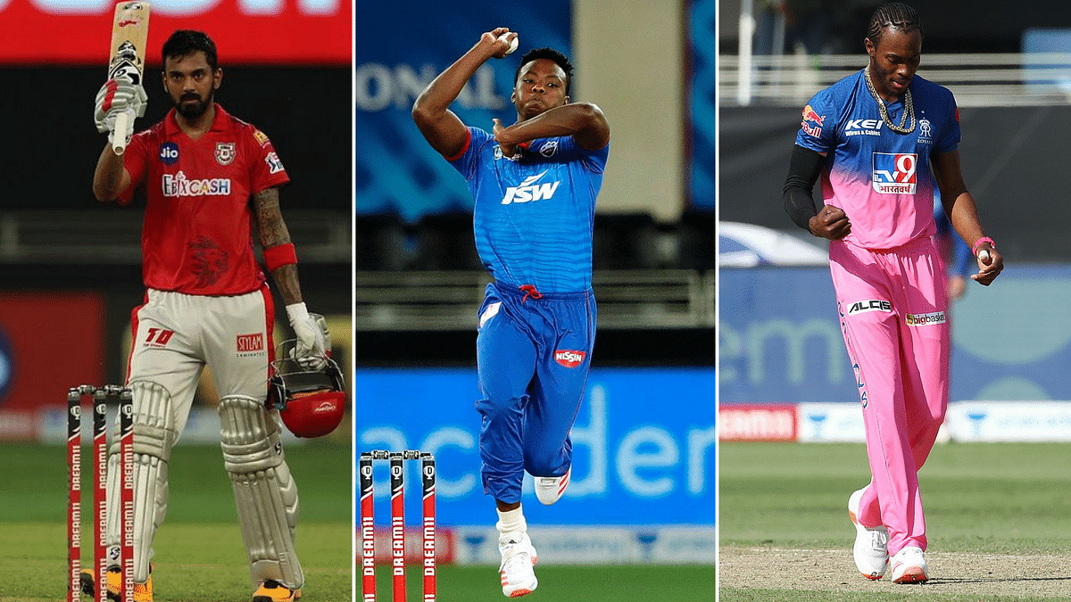 KL Rahul holds on to the Orange Cap with 448 runs, while Kagiso Rabada leads Purple Cap race with 18 wickets and Jofra Archer tops MVP table with 194.5 points