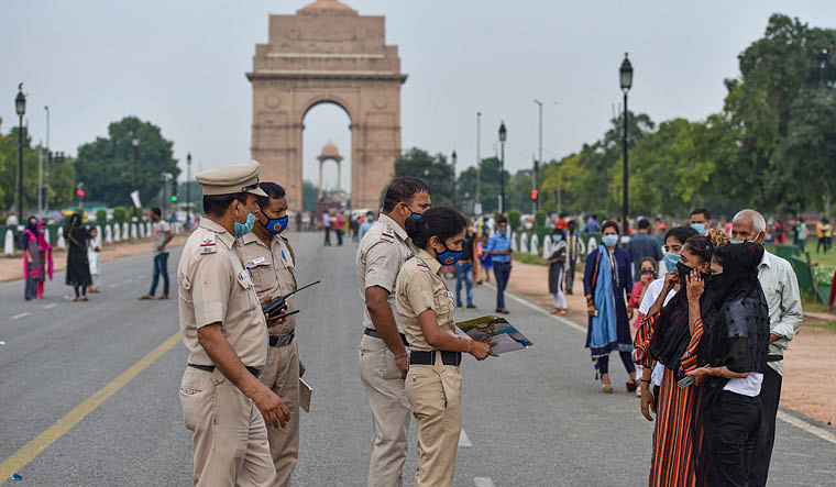 Section 144 of Code of Criminal Procedure (CrPC) which prohibits assembly of five or more people at a time, has been imposed at the India Gate.