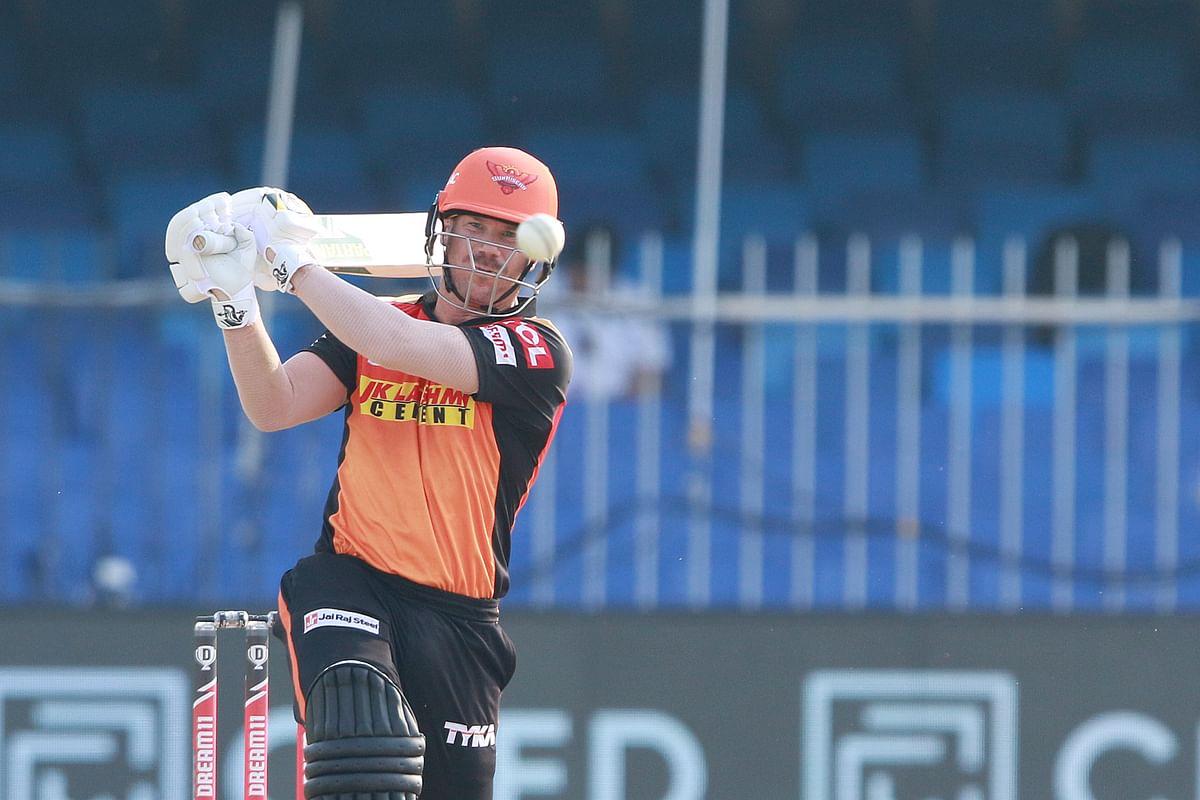 David Warner scored his maiden half-century in IPL 2020 against Mumbai Indians.
