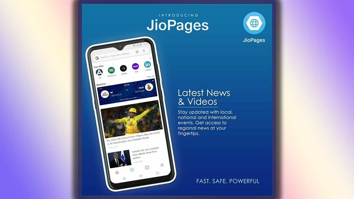 Here's a Look at Jio's New Web Browser JioPages & Its Features