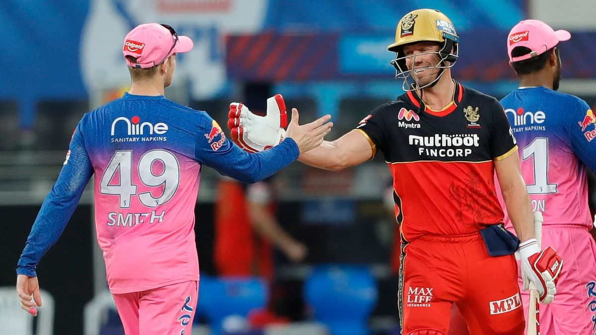 RCB defeated RR by 7 wickets at Dubai International Stadium to register their 6th win of IPL 2020.