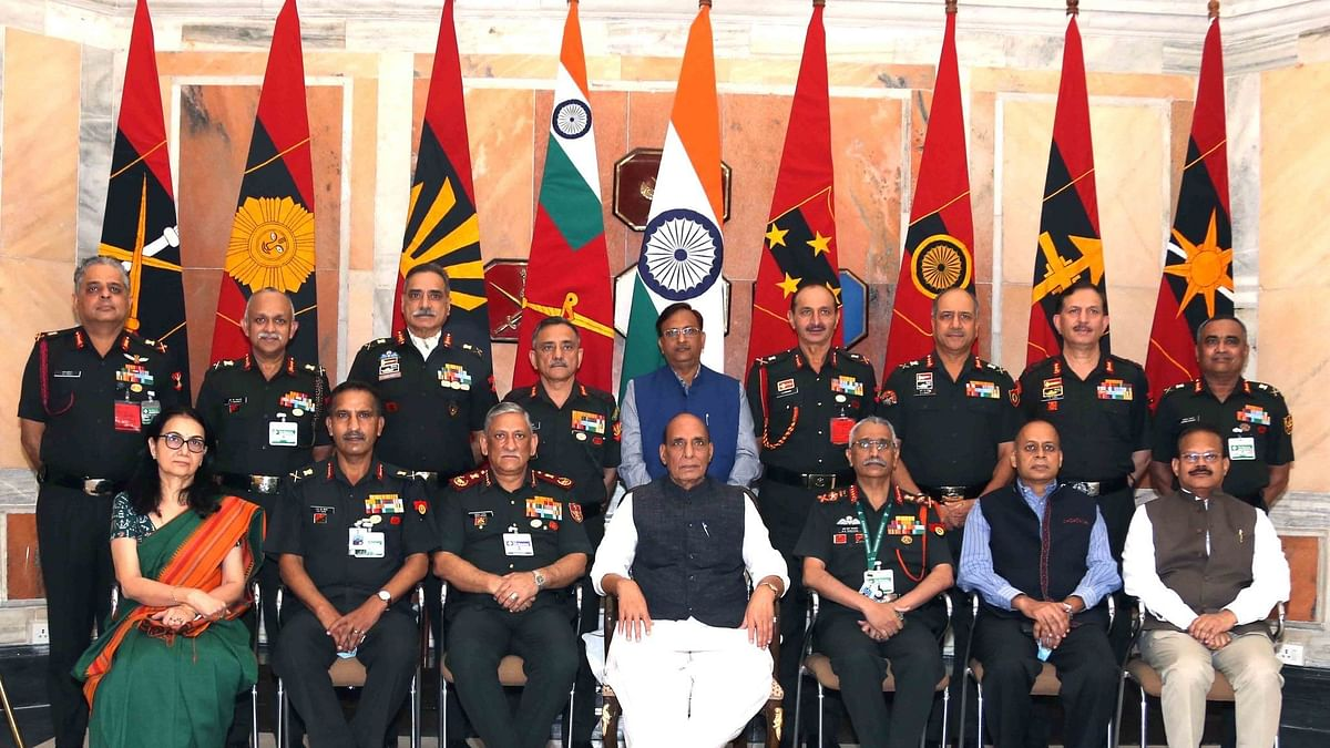 Be Wary of Chinese Actions at Borders: Rajnath to Army Commanders