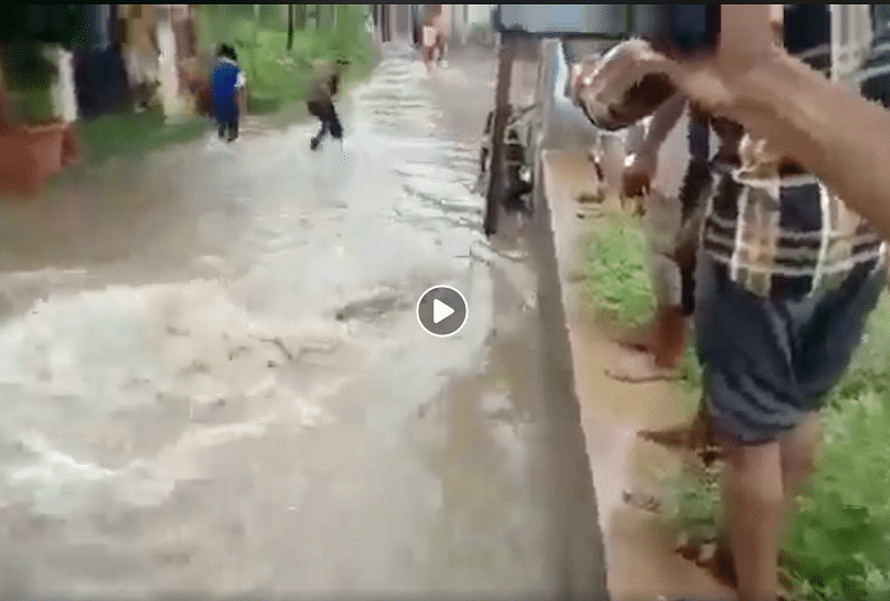 Old Visuals from Gujarat, Mexico Shared as Hyderabad Rains