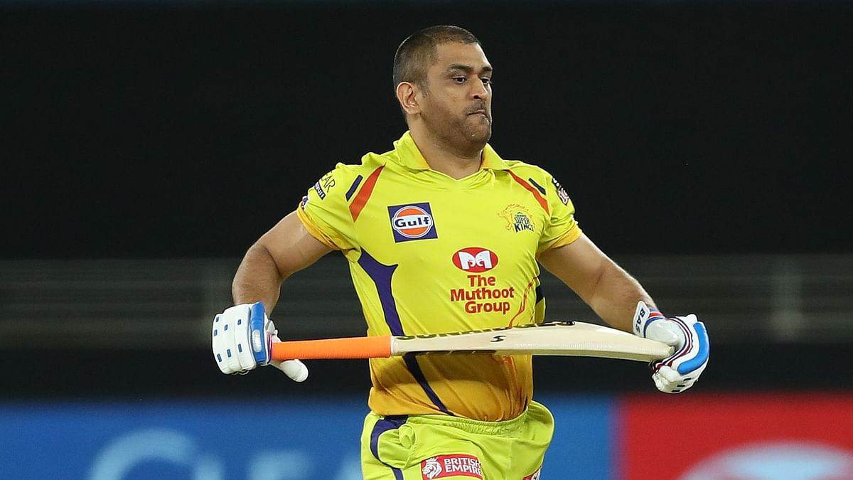 Chennai Super Kings (CSK) captain Mahendra Singh Dhoni saw his team sink to their fifth defeat.