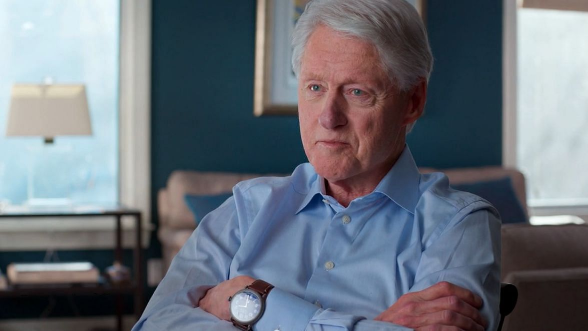 Bill Clinton too makes an appearance in the documentary.