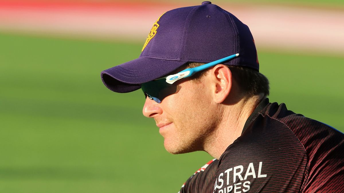Eoin Morgan was instrumental in helping KKR keep their playoff hopes alive after they won against RR.